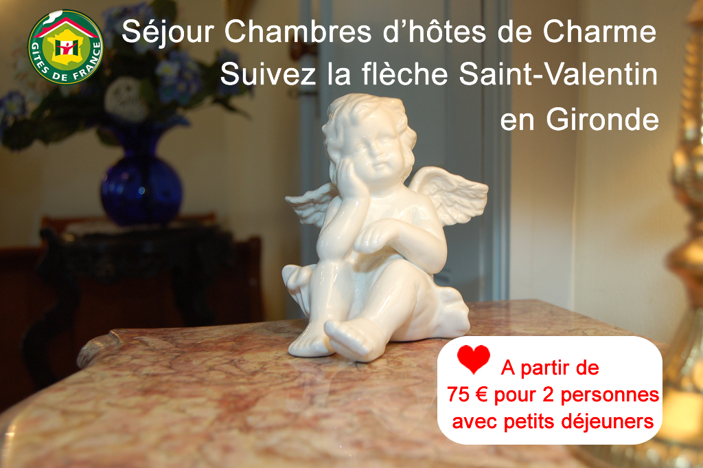 Séjour Saint Valentin de Charme