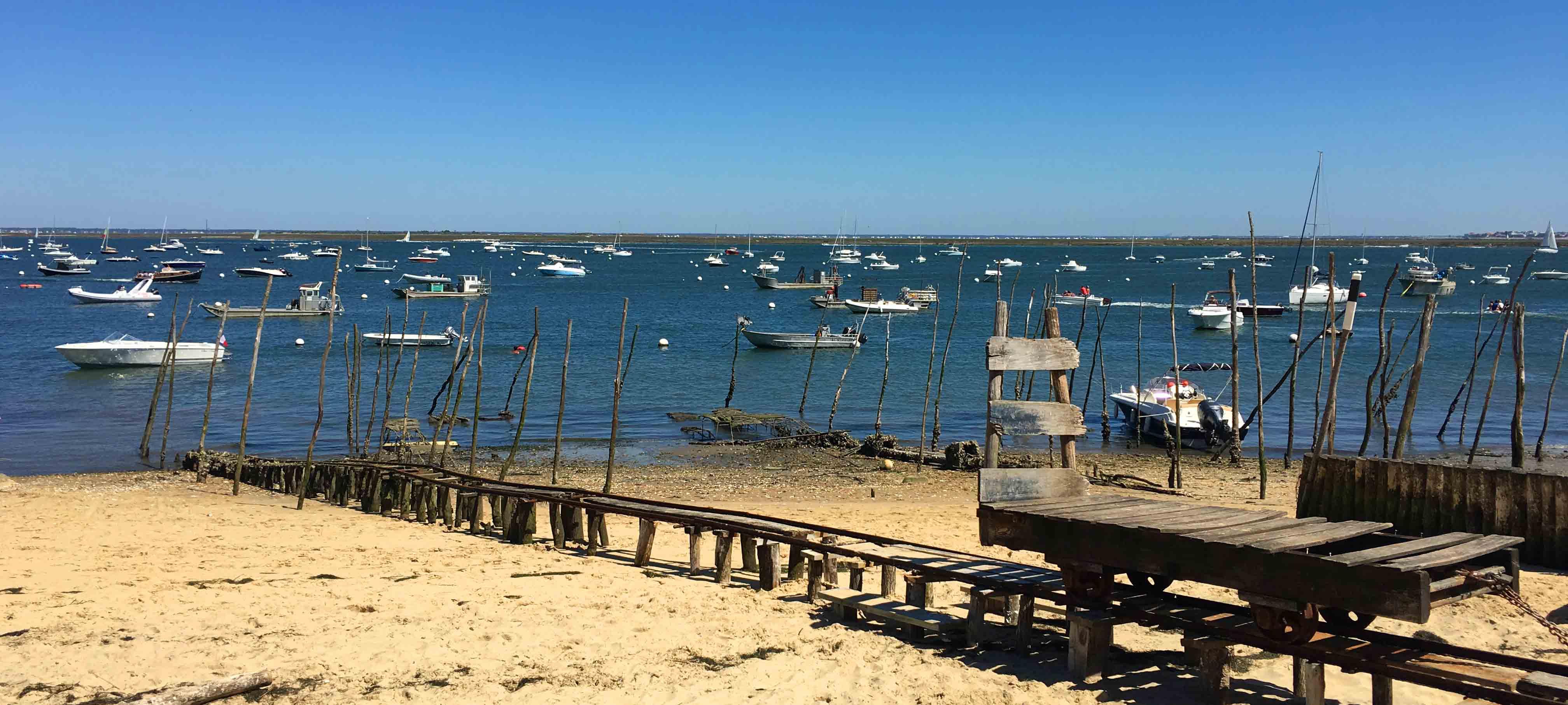 Village de l'Herbe port - Bassin d'Arcachon