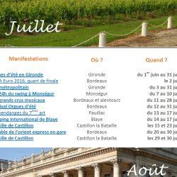 événements en Gironde