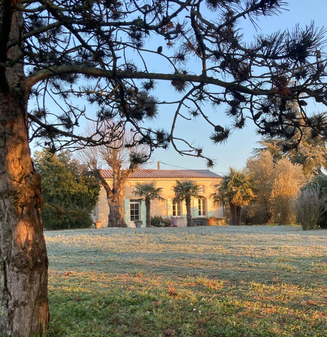 hiver en Gironde